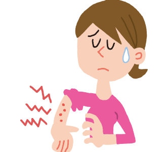 つらい痒みに悩まされている、痒みは痛みより我慢できない時もある!