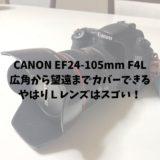 CANON EF24-105mm F4L