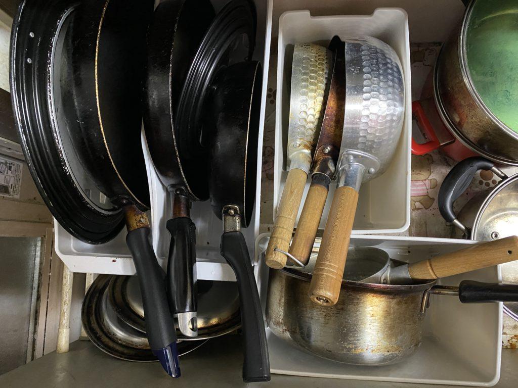 キッチン用具 縦置き